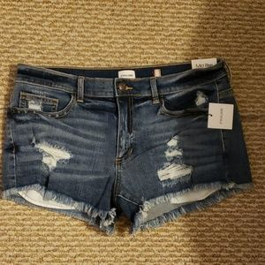 Sneak Peek jean shorts